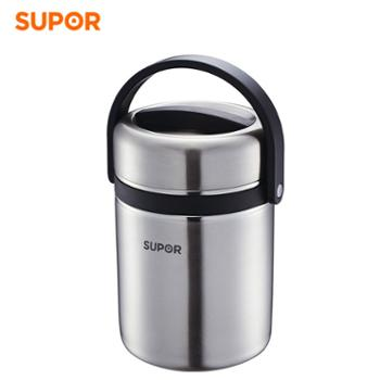 苏泊尔1.9L高汤宝不锈钢大容量保温饭盒KF19A1