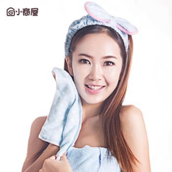 超值束发带+方巾套装韩版美容发带瑜伽洗脸化妆面膜束发巾包头13607