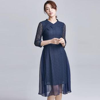 戎立特时尚女士连衣裙FW9021-22
