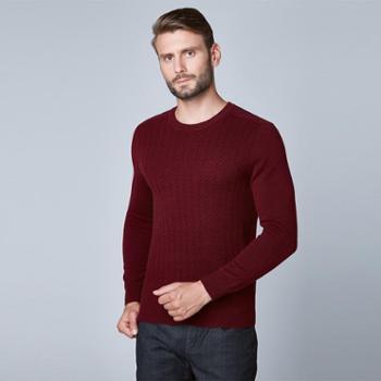 戎立特新款男士时尚羊绒衫FM016