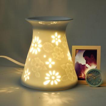 美甚陶瓷香薰灯插电熏香炉精油灯薰香创意香熏灯炉香薰机