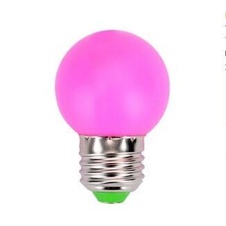 led彩色灯泡节能装饰佛灯酒吧景观跑马红绿蓝黄粉紫白