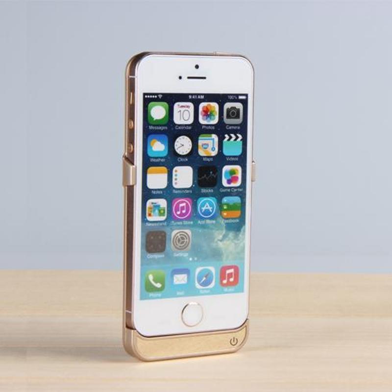 iphone5背夹电池苹果5s专用充电宝超薄聚合物移动电源手机壳正品