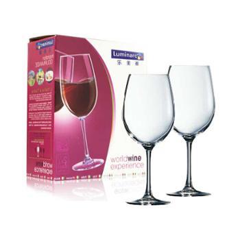 弓箭乐美雅正品 品味红酒杯玻璃杯高脚杯4只装 470ml