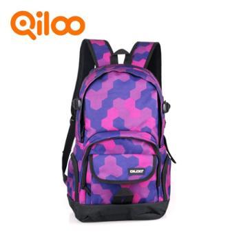 【Qiloo】时尚休闲双肩包