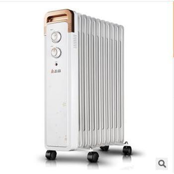 志高 电油汀 油汀电暖器 取暖器 1年质保 11片