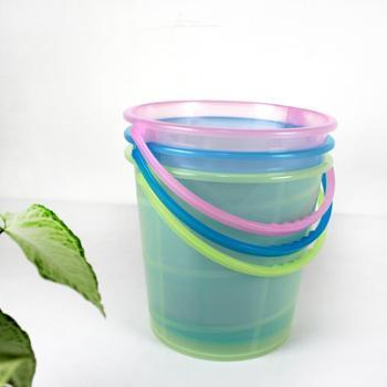 RUIYI 锐益 中式手提桶(颜色随机)洗衣洗菜储水桶 结实耐用多用水桶1个