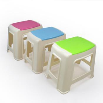 RUIYI锐益 方形高凳 双色防滑凳 餐桌椅凳