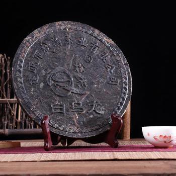 松清牌浓香茶饼大红袍,白乌龙,饼350g
