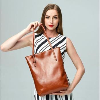 春夏新款时尚欧美真皮女包牛皮包包单肩包斜跨包女包