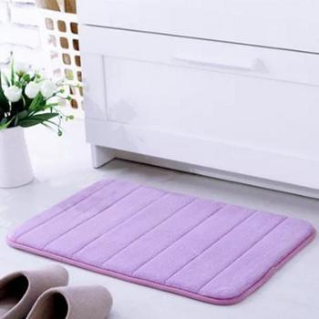 悠品记忆棉地毯多色门垫进门脚踏垫浴室洗澡卫生间客厅防滑地垫地毯