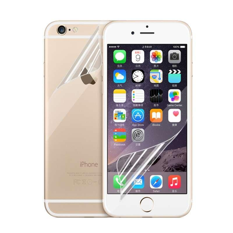 【充电】悦乐高清手机屏保强光保护膜(含背面)iphone4s/5s/6/6pled苹果特惠灯图片