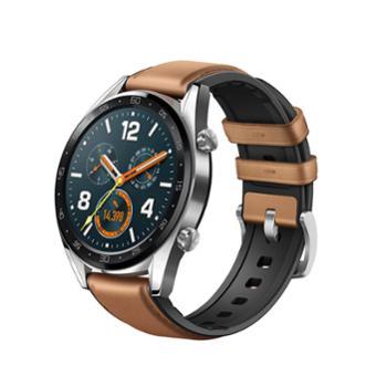 HUAWEIWATCHGT时尚版钢色华为智能手表多功能运动手表商务游泳防水心率监测手环