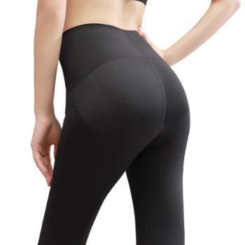 gangsta芭比裤新款速干外穿紧身裤高腰收腹提臀女裤显瘦运动瑜伽裤B374