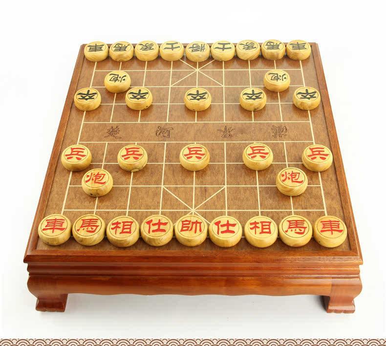 实木中国象棋桌