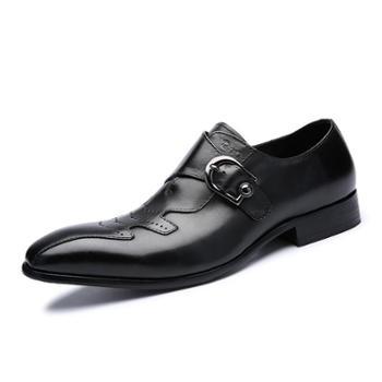 上匠风华高端商务休闲鞋185-1