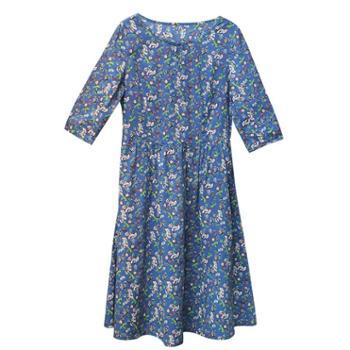 sandalling气质连衣裙 9542