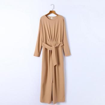 sandalling针织显瘦女连衣裙9501
