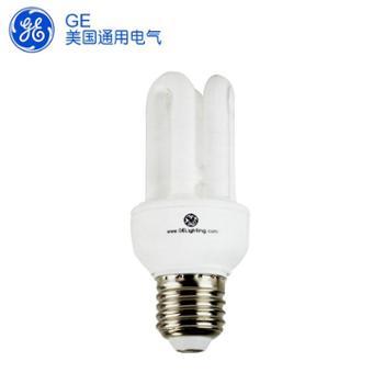 GE照明/通用电气长寿型3U管电子节能灯9W/15W18W/E27/暖光/日光