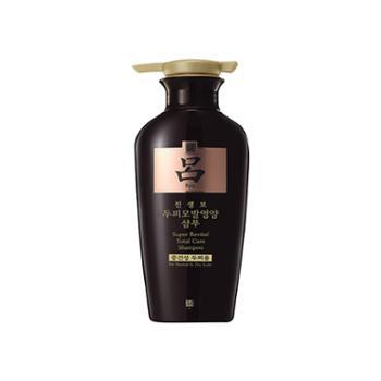 韩国Ryoe(吕)参宝防脱滋养无硅油洗发水(黑吕)400ml