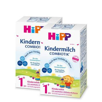 【2件装】Hipp 喜宝 有机益生菌奶粉 4段/1+段 600克/盒