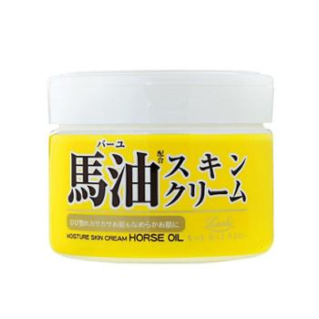 日本LOSHI马油面霜保湿滋润抗过敏润肤霜220克