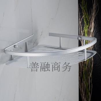 置物架卫生间置物架卫浴三层角架转角架收纳架挂壁