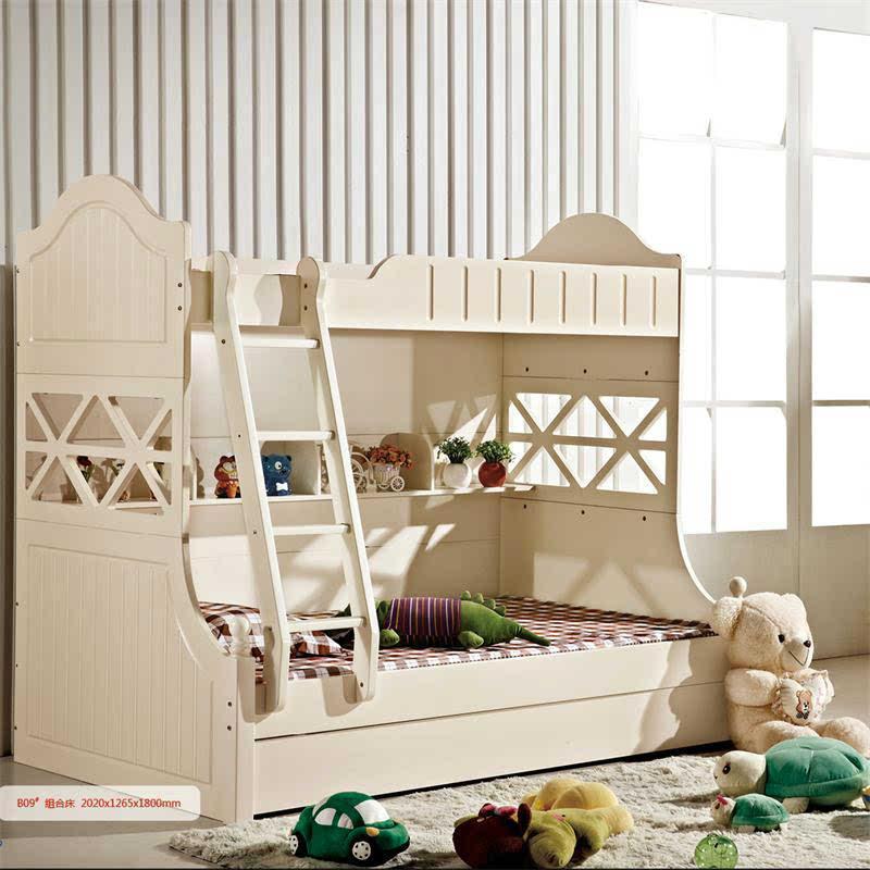 家居佳 韓式實木雙層床 上下床兒童床高低床子母床 三包到家
