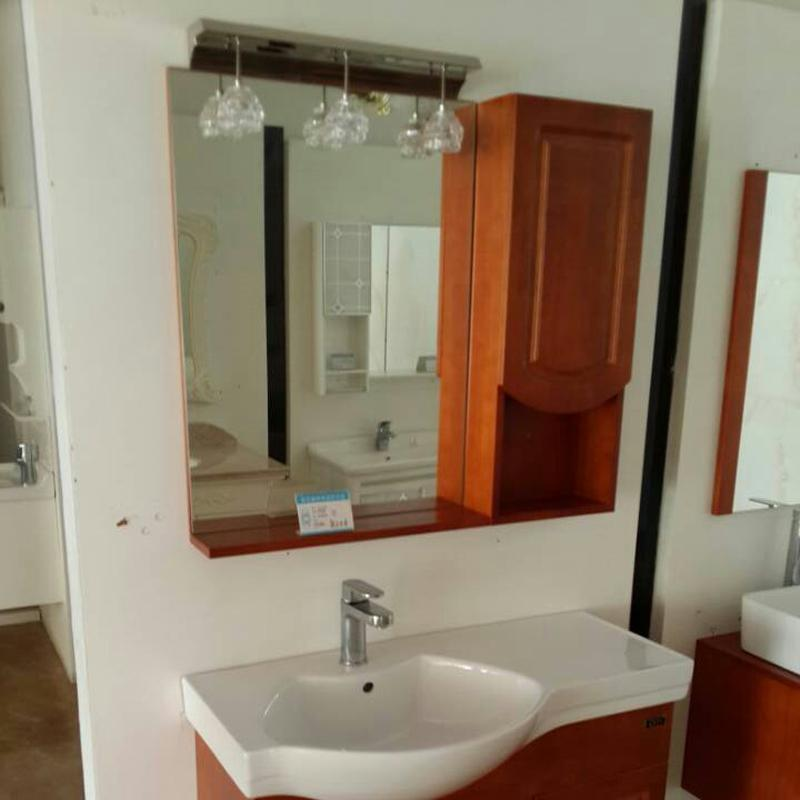 欧美森 落地卫浴柜 卫生间欧式卫浴柜 洗脸盆洁具组合(陶瓷)