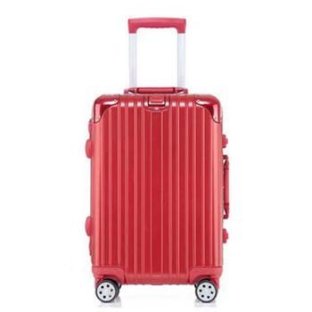 瑞士军刀铝框拉杆箱20寸万向轮登机箱商务行李箱旅行箱