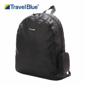 TravelBlue/蓝旅男女款双肩背包旅游包便携皮肤包折叠包12L054