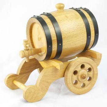 """森帝酒具""""本色炮车式""""1.5L 木质本色"""