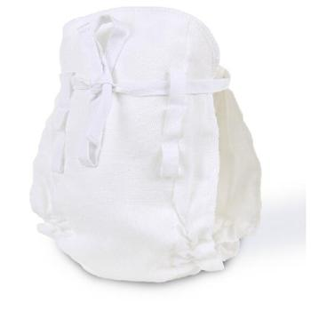 沐童全棉纱布系带尿布婴儿可洗布尿裤纱布尿片5条套装