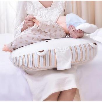 乐孕哺乳枕头 哺乳枕喂奶枕 多功能孕妇枕婴儿学坐枕护腰枕哺乳垫