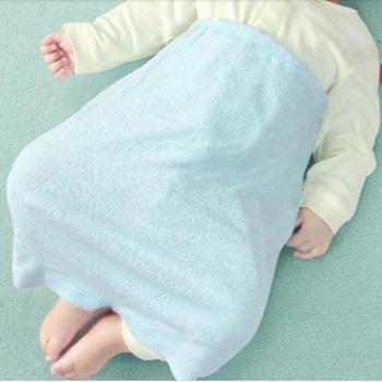 1+1=3竹纤维婴儿护肚睡袍儿童防踢被宝宝睡袋夏季空调被薄新生儿