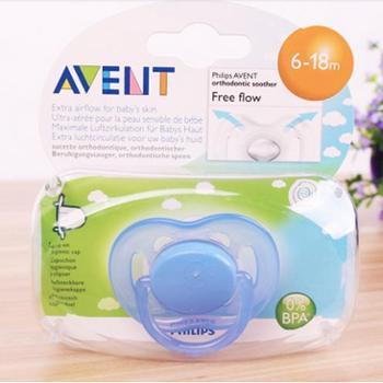 新安怡进口安抚奶嘴包邮标准口径婴儿奶嘴宝宝安慰奶嘴0-6-18个月