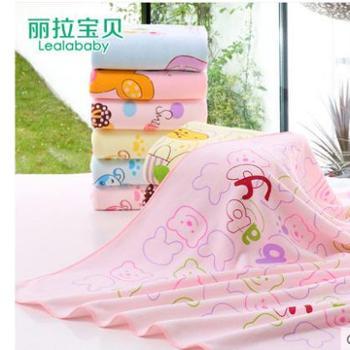 婴儿浴巾新生儿宝宝加大毛巾被男女儿童超细纤维沙滩巾成人浴巾