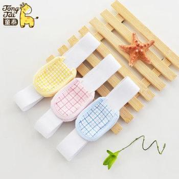 童泰新生儿尿布带婴儿尿片固定带婴儿尿布扣0-3个月三个装