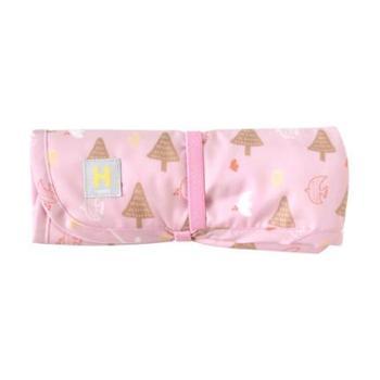 Hoppetta日本进口花语森林防水尿布垫婴儿隔尿垫棉宝宝可洗床垫