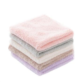 儿童宝宝婴儿小方巾毛巾 纯棉四方全棉成人家用柔软手帕女洗脸手巾
