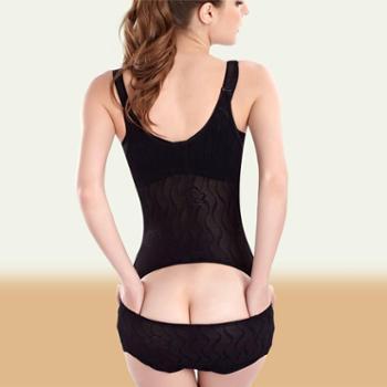 产后夏季薄透气塑身连体衣产妇瘦身塑体衣开裆收腹收胃瘦腰提臀