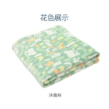 米乐鱼 新品婴儿毛毯双层加厚保暖法兰绒盖毯新生儿四季抱毯秋冬