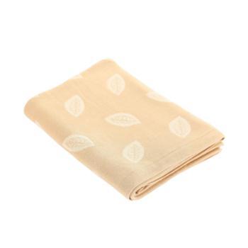良良幸运草春夏新生婴儿盖毯竹浆纤维宝宝抱毯儿童针织双面小毯子