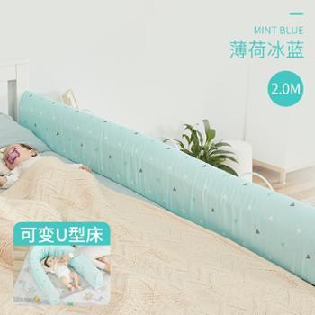 xiongbaby床围栏宝宝防摔防护栏婴儿床护栏防掉床儿童大床1.8-2米