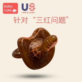 babycare婴儿安抚奶嘴硅胶安睡型超软0-6-18个月新生儿宝宝奶嘴