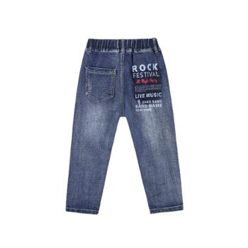 多多家童装男童裤子春装新款长裤中大儿童男孩洋气牛仔裤潮裤