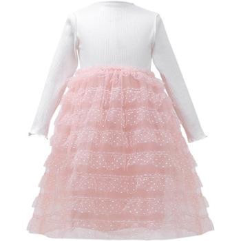 女童连衣裙2019新款春装儿童中大童裙子韩版洋气春秋公主裙蛋糕裙