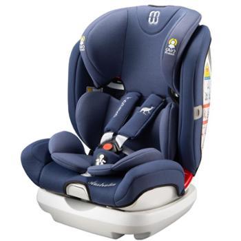 哈米罗罗儿童安全座椅汽车用车载宝宝婴儿可躺坐椅isofix接口