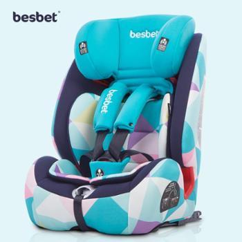 BesBet宝宝儿童安全座椅汽车用新生婴儿提篮车载isofix