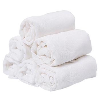 安耐士婴儿尿布竹纤维棉纱布尿布新生儿介子布宝宝用品折叠可水洗